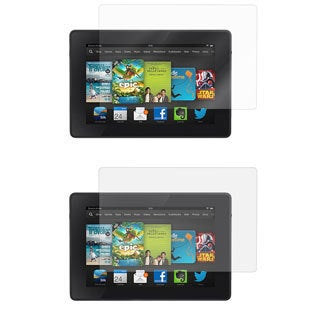 rooCASE Screen Protectors LCD Film Guard for Amazon Kindle Fire HD 7 2013 (Pack of 4)