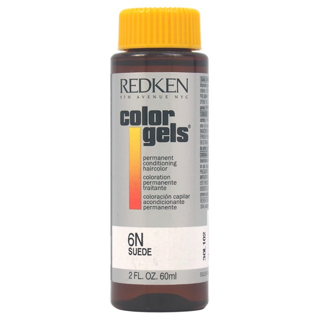 Redken Color Gels Permanent Conditioning 6N Suede 2-ounce...