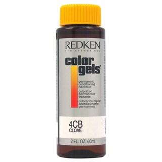 Redken Color Gels Permanent Conditioning 4CB Clove 2-ounce Hair Color