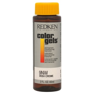 Redken Color Gels Permanent Conditioning 9NW Irish Creme 2-ounce Hair Color
