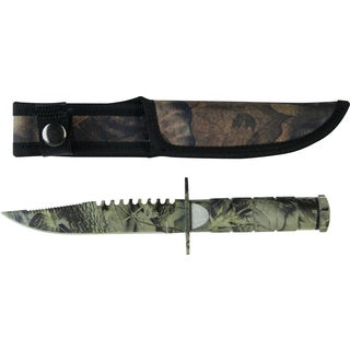 Survivor 8.5-inch Stainless Steel Survival Knife
