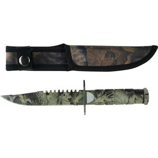 Survivor 8.5-inch Stainless Steel Survival Knife