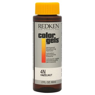 Redken Color Gels Permanent Conditioning 4N Hazelnut 2-ounce Hair Color