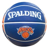 Spalding New York Knicks 7-inch Mini Basketball