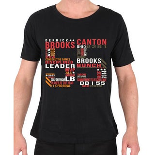 Men's Licensed Derrick Brooks '55' T-shirt (4 options available)