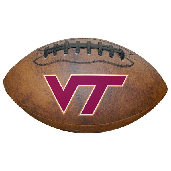 Wilson NCAA Virginia Tech Hokies 9-inch Composite Leather Football