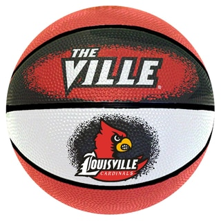 Spalding Louisville Cardinals 7-inch Mini Basketball