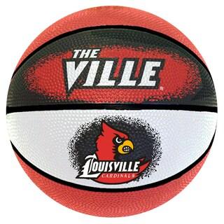 Spalding Louisville Cardinals 7-inch Mini Basketball