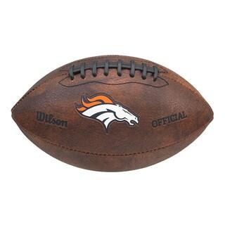 Wilson NFL Denver Broncos 9-inch Composite Leather Football
