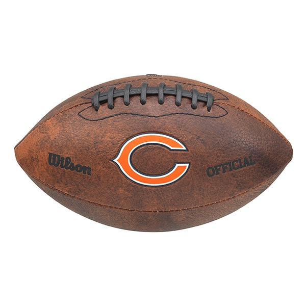 Wilson NFL Chicago Bears 9-inch Composite Leather Football