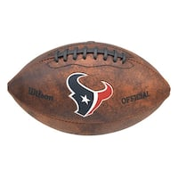 Wilson NFL Houston Texans 9-inch Composite Leather Football
