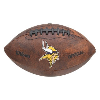 Wilson NFL Minnesota Vikings 9-inch Composite Leather Football