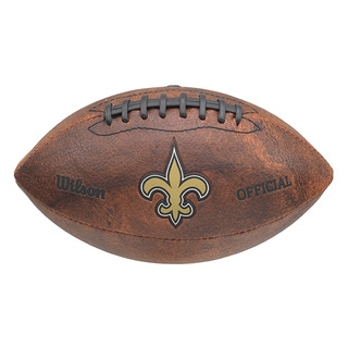 Link to Wilson NFL New Orleans Saints 9-inch Composite Leather Football Similar Items in Fan Shop