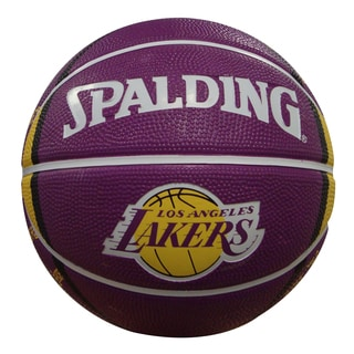 Spalding Los Angeles Lakers 7-inch Mini Basketball