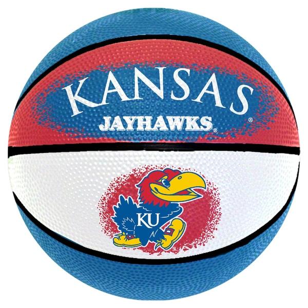 Spalding Kansas Jayhawks 7-inch Mini Basketball