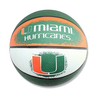 Spalding Miami Hurricanes 7-inch Mini Basketball
