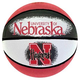 Spalding Nebraska Cornhuskers 7-inch Mini Basketball