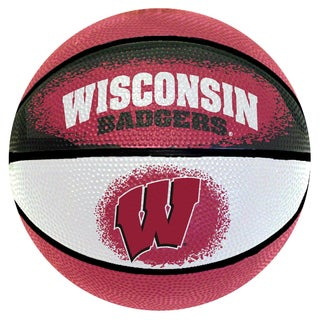 Spalding Wisconsin Badgers 7-inch Mini Basketball