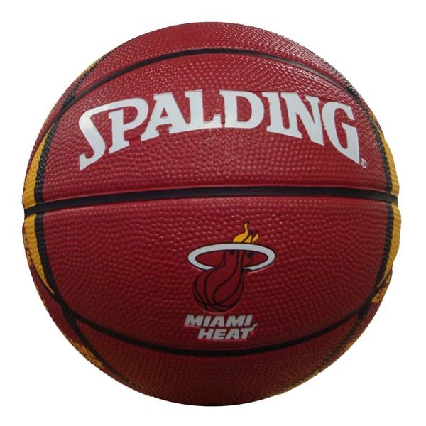 Basketball Rug Target: Shop Spalding Miami Heat 7-inch Mini Basketball