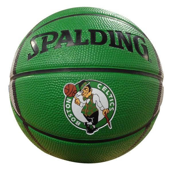 Spalding Boston Celtics 7-inch Mini Basketball  sc 1 st  Overstock.ca & Shop Spalding Boston Celtics 7-inch Mini Basketball - Ships To ...