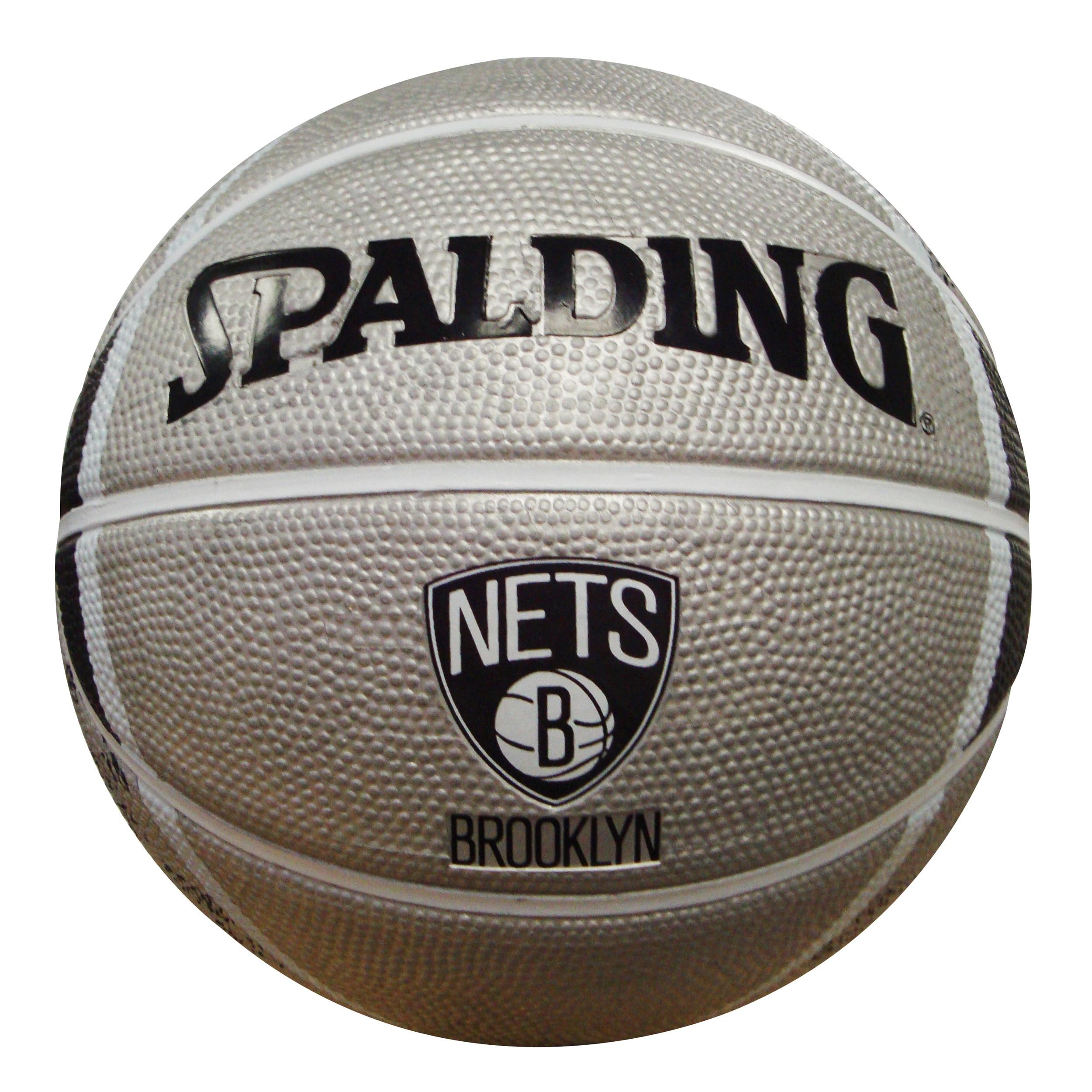 Spalding Brooklyn Nets 7-inch Mini Basketball (1)
