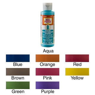 Mod Podge Sheer Color 4oz (Option: Green)