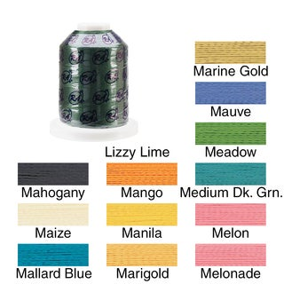 Rayon Super Strength Thread Solid Colors 1100 Yards
