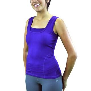 Madison Sport Women's 'Jenny' Mesh-insert Side Panels Tank Top (Option: 4)