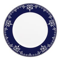 Lenox Marchesa Empire Pearl Indigo Dinner Plate