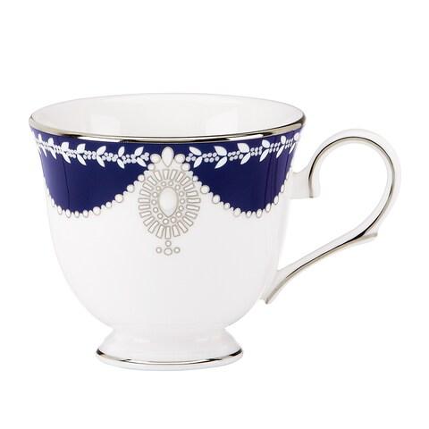 Lenox Marchesa Empire Pearl Indigo Teacup
