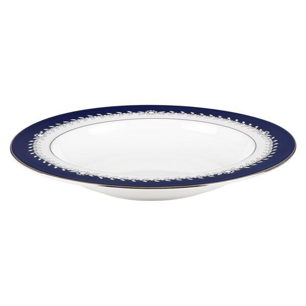 Lenox Marchesa Empire Pearl Indigo Soup Bowl