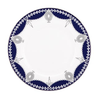 Lenox Marchesa Empire Pearl Indigo Salad Plate