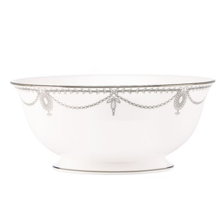 Lenox Marchesa Empire Pearl Serving Bowl