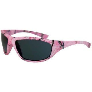 Piranha Women's Pink Camo Polarized Sport Sunglasses