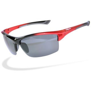 Piranha Men's Cross Training V Sport Sunglasses with Smoke Grey Lenses