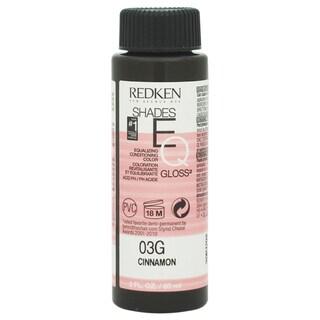 Redken Shades EQ Color Gloss 03G Cinnamon Women's 2-ounce Hair Color