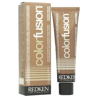Redken Color Fusion Color Creme Natural Balance # 6Ab Ash/Blue Women's 2.1-ounce Hair Color