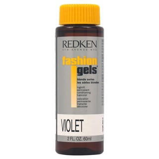 Redken Fashion Gels Blonde Series Highlift Permanent Conditioning Violet 2-ounce Hair Color