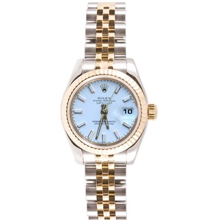 Pre-Owned Rolex Women's 179173.JWS Datejust Jubilee Two-Tone Watch
