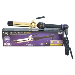 Hot Tools Professional Salon Gold/Black 1.25-inch Curling Iron