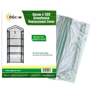 Ogrow 4-tier Greenhouse Replacement Cover