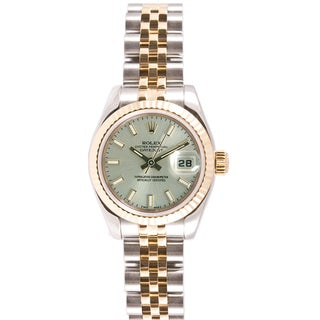 Pre-Owned Rolex Women's 179173.JSS Datejust Jubilee Band Watch