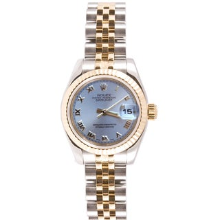 Pre-Owned Rolex Women's 179173.JSR Two-tone Datejust Jubilee Band Watch