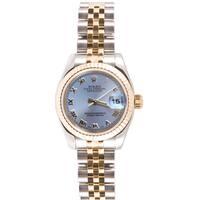 Pre-Owned Rolex Women's 179173.JSR Two-tone Datejust Jubilee Band Watch