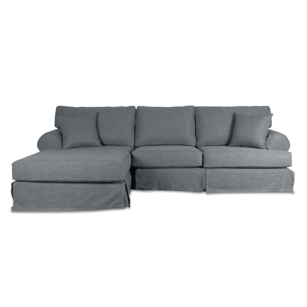 Hamptons Slipcover Sectional Chaise