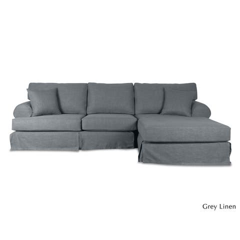 Hamptons Slipcover Sectional Chase