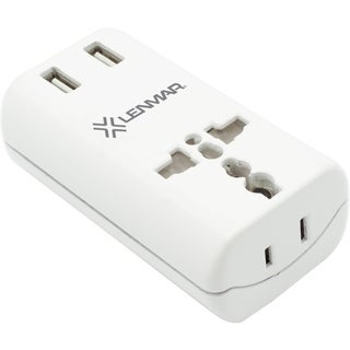 Lenmar World Travel Adapter with Dual USB Ports for More Than 150 Loc
