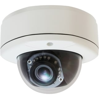 LevelOne H.264 5-Mega Pixel Vandal-Proof FCS-3064 PoE WDR IP Dome Net