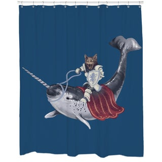 Sir Catspian Shower Curtain