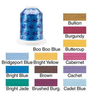 Rayon Super Strength Thread Solid Colors 1100 Yards (More options available)